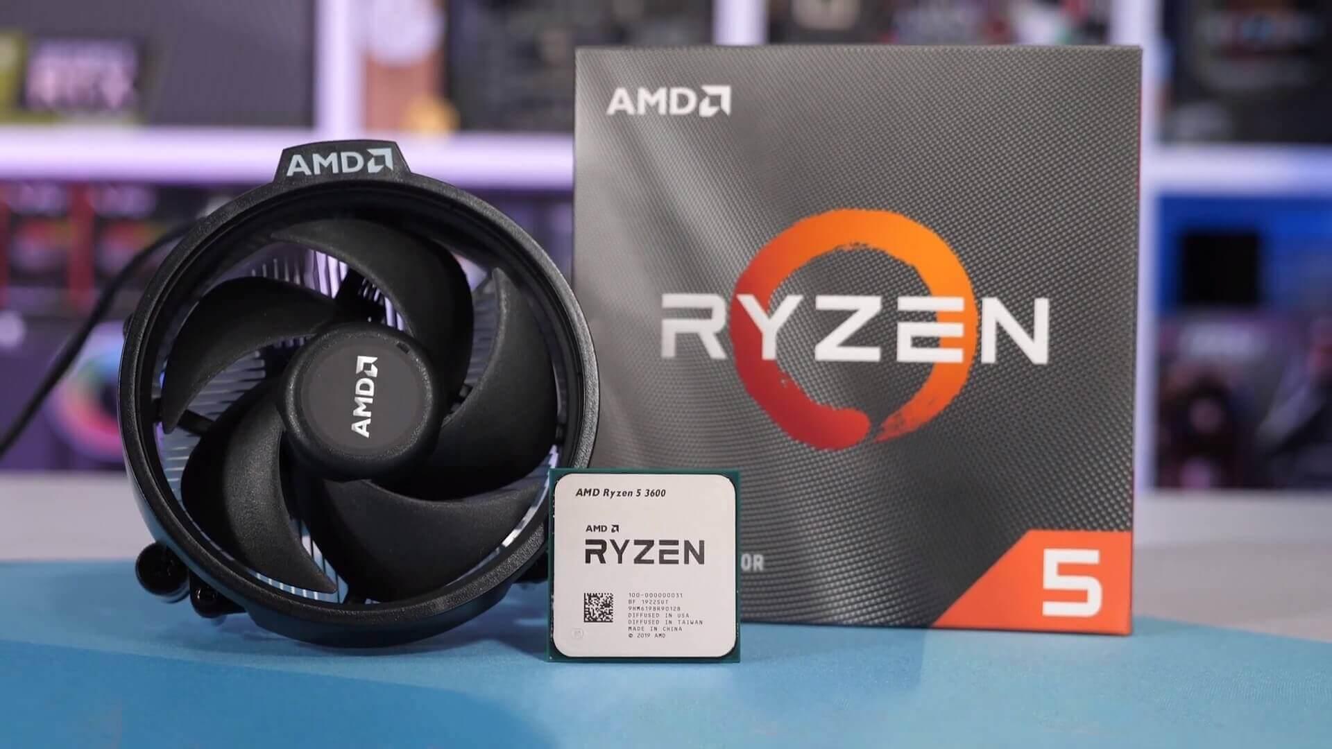 Đánh giá AMD Ryzen 5 3600