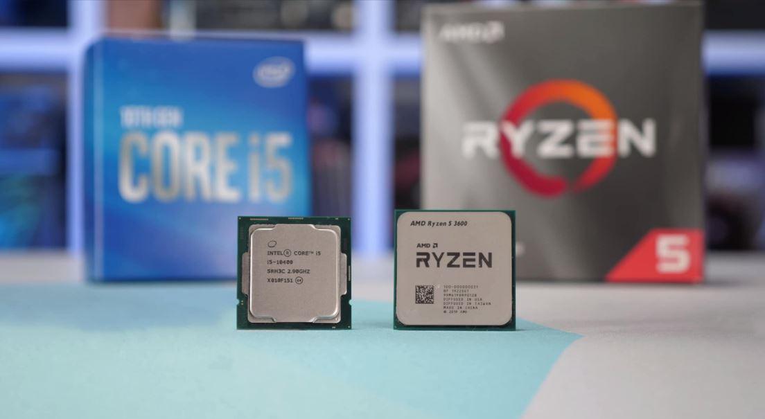 So sánh hiệu năng giữa core i5-10400 vs Ryzen 5 3600
